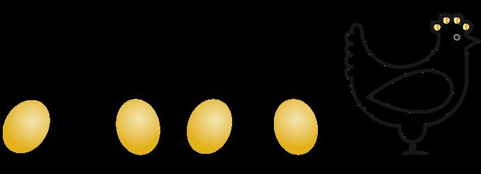 logo La Poule aux oeufs Or
