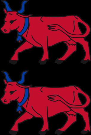 logo Les 2 Vaches Rouges
